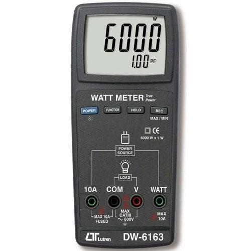 Digital Watt Meter LUTRON DW-6163