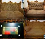 Sofa set (3+2+1 seats) and Tea Table