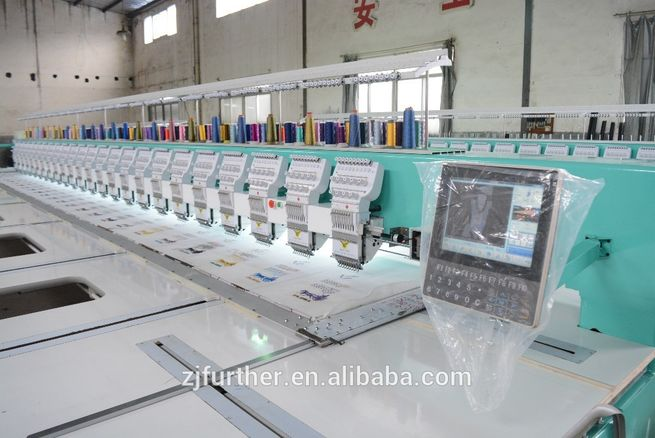 #Computerized Embroidery Machine