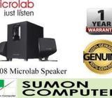 Brand New Microlab Speaker M108 2x1