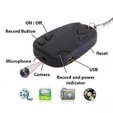Key Ring Spy Camera