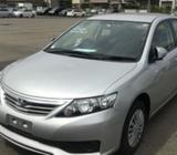 Toyota Allion Silver Color 2015