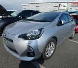 Toyota Aqua G-PKG HYBRID, SILVER 2013