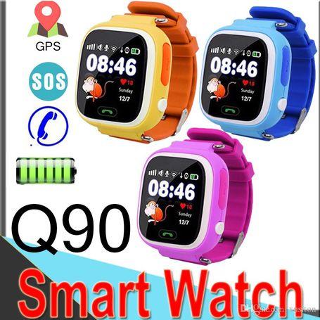 Kids Gps Smart Watch Phone Q90