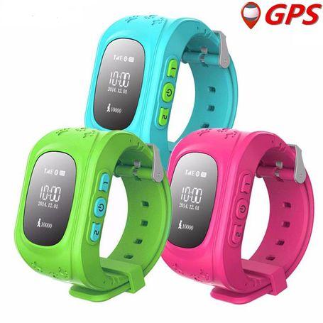 Kids Gps Smart Watch Phone Q50