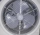 Sunca AC/DC Rotary Fan (Battery backup) 1 month use