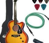 CC-60SCE Concert Acoustic-Electric Guitar