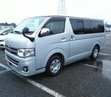 Toyota Hiace Silver Color 2013