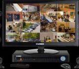 CCTV Camera 4.pcs &Monitor Total Package