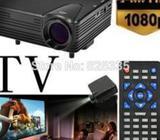 LED Mini Projector H100 Support TV/AV/VGA/SD/USB/HDMI