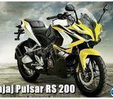BAJAJ PULSAR RS 200 OR 200 SS