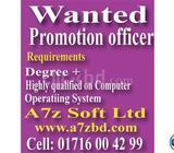Promotion officer