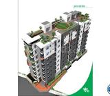 1080 Sft 3 Bed Flat For Sell In Kajipara Bus Stand@Mirpur 10