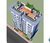 1350 sft flat,South face@Aftabnagar G Block