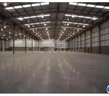 Warehouse and land for rent