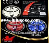 CAR LOGO 3D LIGHT BADGES