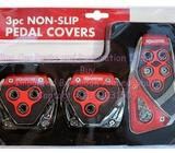 New Auto Pedal 2 Pcs Set Brake Cover