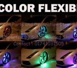 LED WHEEL WELL UNDERCAR BODY flexi WATERPROOF 7 COLORS