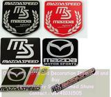 Brushed Aluminium Mazda Speed Sport badge