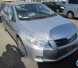 Toyota Axio X 2011 Silver
