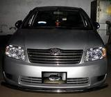 Toyota X corolla 2005 , daily,monthly yearly baise