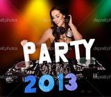 DJ PARTY Complete Package (DJ+SOUND+LIGHT+SMOKE
