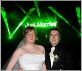 Wedding Laser Light Show (Animation and Beam Show