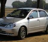 X COROLLA/03/09,SE25,SELF DRIVEN,CNG,FULL AUTO