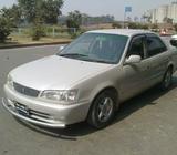 Super Fresh Corolla XE Saloon Ltd (97/Reg 2001