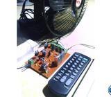 solar remote switch 2 fan 3 light