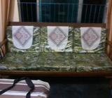 Old Sofa Set With Tea Table