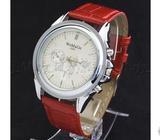 Red Wrist Watch