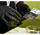 Our Chemical is 100% pure.We clean all currencies