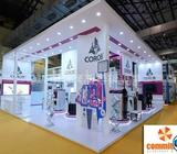 Exhibition Stall Design for Big Show powered by commitment