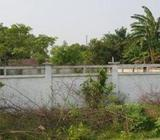 land with Boundary wall and MS gate