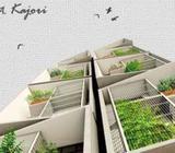 2600 sqft flat Electricity,lift facilities