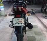 Bajaj Pulsar কালো ব্যাক লাল 2016