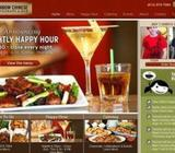 Restaurant Cafe or Hotel Website Development