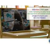 Web Based Marketing & Sales Force Management CRM Software
