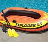 Intex Rubber 300 Boat নৌকা ভ্রমন 3-Person