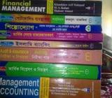 BBA Honr's 3rd finance and banking all books