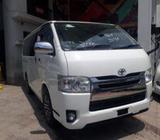 Toyota Hiace Super GL New Shape 2014