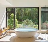 LUXURIOUS BATHROOMS WITH CURVED TUBS DESIGN
