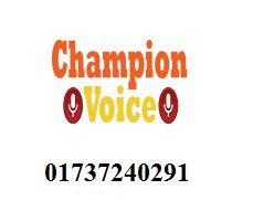 Champion Voice Reseller 01737240291
