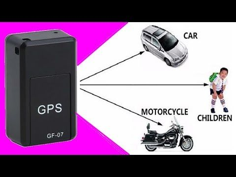 GF07 Mini GPS Car Tracker
