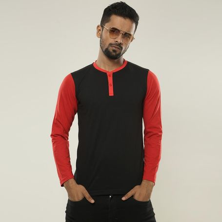 Cotton Slim Fit Full Sleeve T-Shirt Full Sleeve