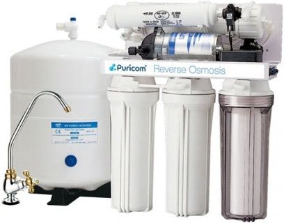 Puricom CE-2 Undersink 5-Stage RO Water Filter