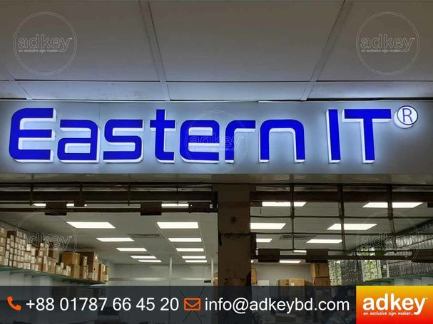 LED Sign Acrylic Top Letter Acrylic Channel Letters Sign LED Light Board Acrylic Letter Board LED Li