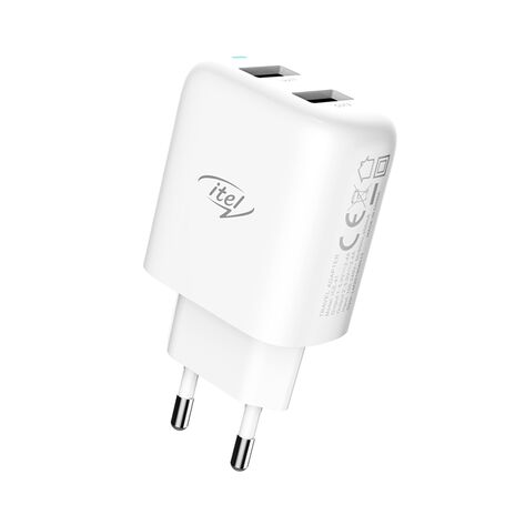 iTel 2USB 2.4A Fast Charger ICE-41