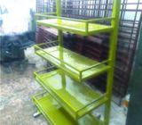 Buy Acrylic Rack Shop Product Rack & Acrylic Rack Sticker Branding Acrylic 4 Tier Shelf Display with